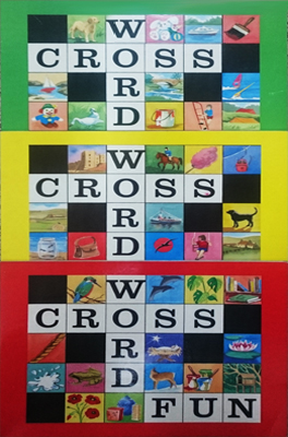 CROSS WORD FUN (DISTINTOS COLORES)