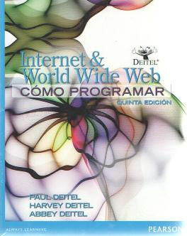COMO PROGRAMAR INTERNET & WORLD WIDE WEB